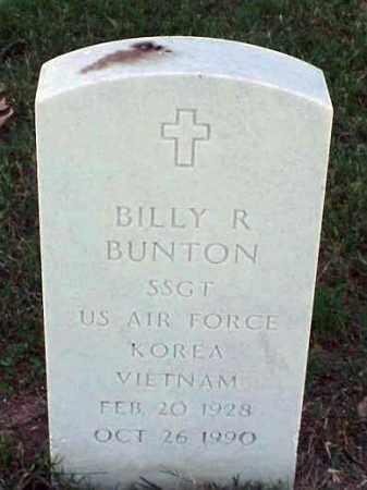BUNTON (VETERAN 2 WARS), BILLY R - Pulaski County, Arkansas | BILLY R BUNTON (VETERAN 2 WARS) - Arkansas Gravestone Photos