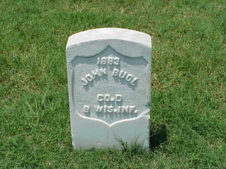 BUOL (VETERAN UNION), JOHN - Pulaski County, Arkansas   JOHN BUOL (VETERAN UNION) - Arkansas Gravestone Photos