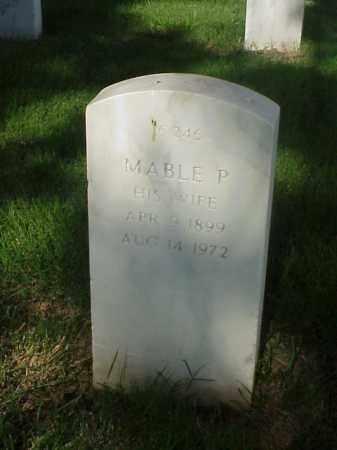 BURCH, MABLE P - Pulaski County, Arkansas | MABLE P BURCH - Arkansas Gravestone Photos