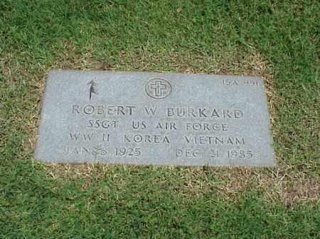 BURKARD (VETERAN 3 WARS), ROBERT W - Pulaski County, Arkansas   ROBERT W BURKARD (VETERAN 3 WARS) - Arkansas Gravestone Photos