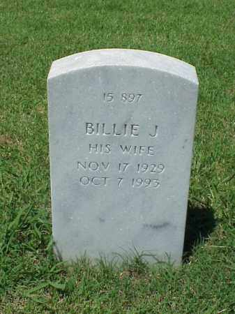BURKE, BILLIE J. - Pulaski County, Arkansas | BILLIE J. BURKE - Arkansas Gravestone Photos