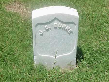 BURKE (VETERAN UNION), J C - Pulaski County, Arkansas | J C BURKE (VETERAN UNION) - Arkansas Gravestone Photos