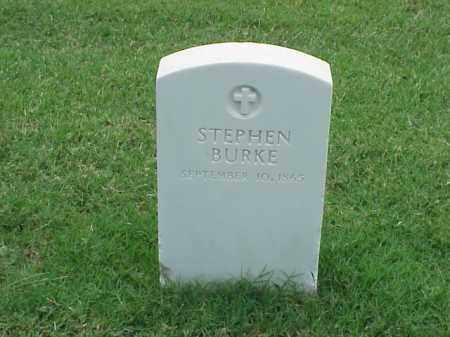 BURKE, STEPHEN - Pulaski County, Arkansas   STEPHEN BURKE - Arkansas Gravestone Photos