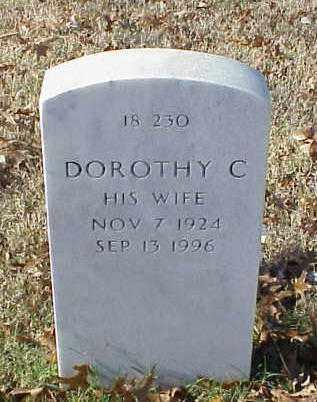 BURNETT, DOROTHY C - Pulaski County, Arkansas   DOROTHY C BURNETT - Arkansas Gravestone Photos