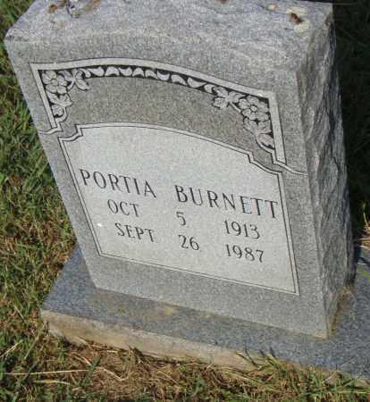 BURNETT, PORTIA - Pulaski County, Arkansas | PORTIA BURNETT - Arkansas Gravestone Photos