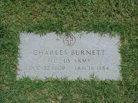 BURNETT (VETERAN), CHARLES - Pulaski County, Arkansas | CHARLES BURNETT (VETERAN) - Arkansas Gravestone Photos