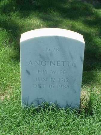 BURNLEY, ANGINETTE - Pulaski County, Arkansas | ANGINETTE BURNLEY - Arkansas Gravestone Photos