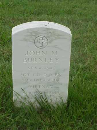 BURNLEY (VETERAN VIET), JOHN M - Pulaski County, Arkansas   JOHN M BURNLEY (VETERAN VIET) - Arkansas Gravestone Photos