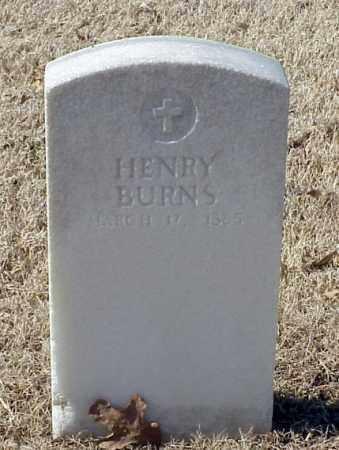 BURNS, HENRY - Pulaski County, Arkansas | HENRY BURNS - Arkansas Gravestone Photos