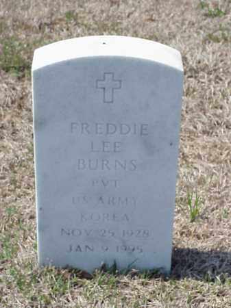 BURNS (VETERAN KOR), FREDDIE LEE - Pulaski County, Arkansas | FREDDIE LEE BURNS (VETERAN KOR) - Arkansas Gravestone Photos
