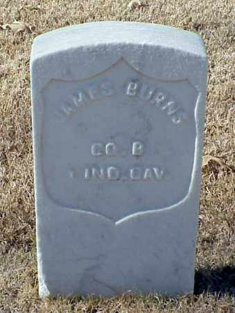 BURNS (VETERAN UNION), JAMES - Pulaski County, Arkansas | JAMES BURNS (VETERAN UNION) - Arkansas Gravestone Photos