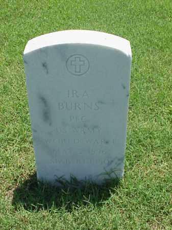 BURNS (VETERAN WWI), IRA - Pulaski County, Arkansas | IRA BURNS (VETERAN WWI) - Arkansas Gravestone Photos