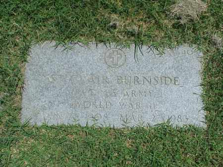 BURNSIDE (VETERAN WWII), ST CLAIR - Pulaski County, Arkansas | ST CLAIR BURNSIDE (VETERAN WWII) - Arkansas Gravestone Photos