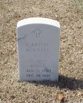 BURRELL (VETERAN KOR), CARTHY - Pulaski County, Arkansas | CARTHY BURRELL (VETERAN KOR) - Arkansas Gravestone Photos