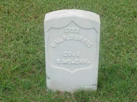 BURRIS (VETERAN UNION), WILLIAM R - Pulaski County, Arkansas | WILLIAM R BURRIS (VETERAN UNION) - Arkansas Gravestone Photos