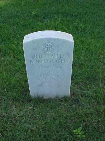 BURROUGHS (VETERAN WWI), RICHARD - Pulaski County, Arkansas | RICHARD BURROUGHS (VETERAN WWI) - Arkansas Gravestone Photos