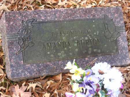 BURTON, AMANDA - Pulaski County, Arkansas | AMANDA BURTON - Arkansas Gravestone Photos