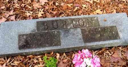 BURTON, ELIZABETH - Pulaski County, Arkansas | ELIZABETH BURTON - Arkansas Gravestone Photos