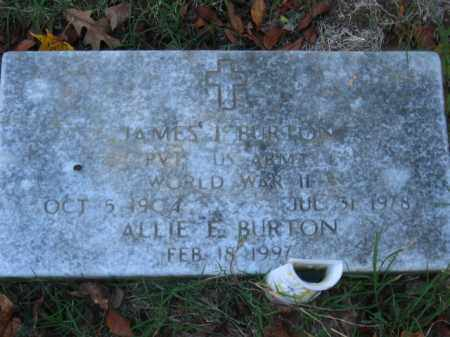 BURTON, ALLIE E - Pulaski County, Arkansas | ALLIE E BURTON - Arkansas Gravestone Photos