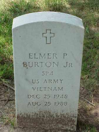 BURTON, JR. (VETERAN VIET), ELMER P - Pulaski County, Arkansas | ELMER P BURTON, JR. (VETERAN VIET) - Arkansas Gravestone Photos