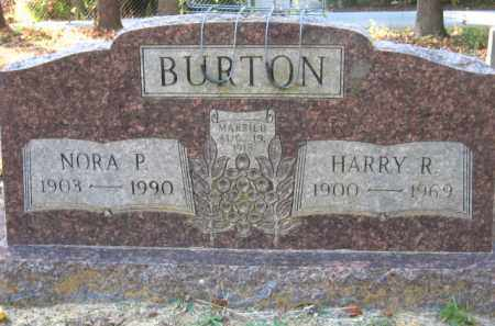 BURTON, NORA P. - Pulaski County, Arkansas   NORA P. BURTON - Arkansas Gravestone Photos