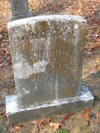 BURTON, ROBERT EARL - Pulaski County, Arkansas   ROBERT EARL BURTON - Arkansas Gravestone Photos