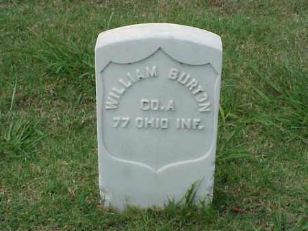 BURTON (VETERAN UNION), WILLIAM - Pulaski County, Arkansas | WILLIAM BURTON (VETERAN UNION) - Arkansas Gravestone Photos