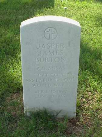 BURTON (VETERAN WWI), JASPER JAMES - Pulaski County, Arkansas | JASPER JAMES BURTON (VETERAN WWI) - Arkansas Gravestone Photos