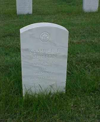 BURTON (VETERAN WWI), SAMUEL F - Pulaski County, Arkansas   SAMUEL F BURTON (VETERAN WWI) - Arkansas Gravestone Photos