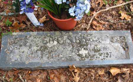 BUSBY, ALDRIDGE - Pulaski County, Arkansas   ALDRIDGE BUSBY - Arkansas Gravestone Photos