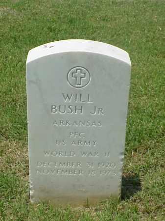 BUSH, JR (VETERAN WWII), WILL - Pulaski County, Arkansas | WILL BUSH, JR (VETERAN WWII) - Arkansas Gravestone Photos