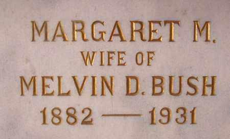 BUSH, MARGARET M - Pulaski County, Arkansas | MARGARET M BUSH - Arkansas Gravestone Photos