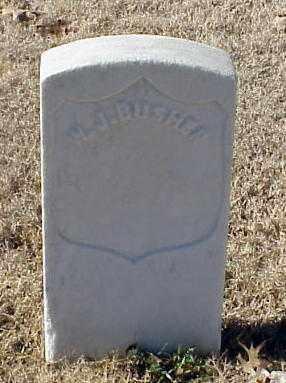 BUSHER (VETERAN UNION), W J - Pulaski County, Arkansas | W J BUSHER (VETERAN UNION) - Arkansas Gravestone Photos