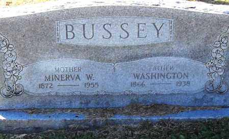 BUSSEY, MINERVA W - Pulaski County, Arkansas | MINERVA W BUSSEY - Arkansas Gravestone Photos