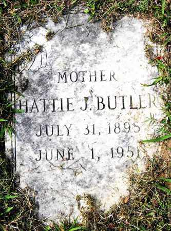 BUTLER, HATTIE J - Pulaski County, Arkansas | HATTIE J BUTLER - Arkansas Gravestone Photos