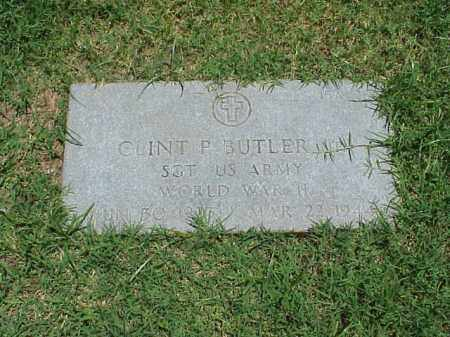 BUTLER, JR (VETERAN WWII), CLINT P - Pulaski County, Arkansas | CLINT P BUTLER, JR (VETERAN WWII) - Arkansas Gravestone Photos