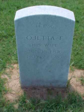 BUTLER, OJETTA E - Pulaski County, Arkansas | OJETTA E BUTLER - Arkansas Gravestone Photos