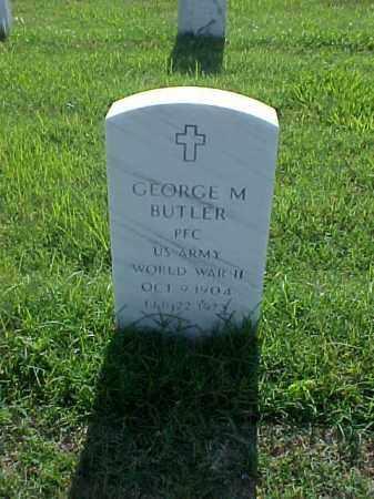 BUTLER (VETERAN WWII), GEORGE MARVIN - Pulaski County, Arkansas | GEORGE MARVIN BUTLER (VETERAN WWII) - Arkansas Gravestone Photos