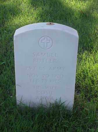 BUTLER (VETERAN WWII), SAMUEL - Pulaski County, Arkansas | SAMUEL BUTLER (VETERAN WWII) - Arkansas Gravestone Photos