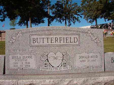 O'SULLIVAN BUTTERFIELD, SHEILA DIANNE - Pulaski County, Arkansas | SHEILA DIANNE O'SULLIVAN BUTTERFIELD - Arkansas Gravestone Photos