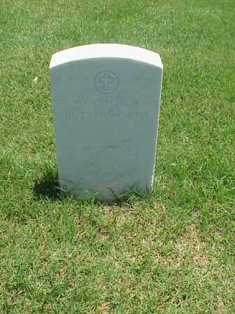 BUTTERWORTH (VETERAN 2 WARS), WINSTON B - Pulaski County, Arkansas | WINSTON B BUTTERWORTH (VETERAN 2 WARS) - Arkansas Gravestone Photos