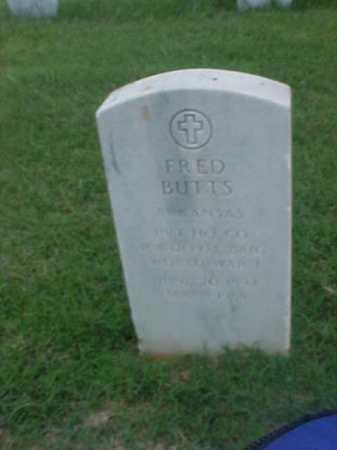 BUTTS (VETERAN WWI), FRED - Pulaski County, Arkansas | FRED BUTTS (VETERAN WWI) - Arkansas Gravestone Photos