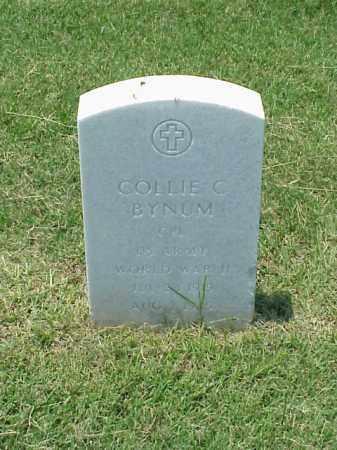 BYNUM (VETERAN WWII), COLLIE C - Pulaski County, Arkansas | COLLIE C BYNUM (VETERAN WWII) - Arkansas Gravestone Photos