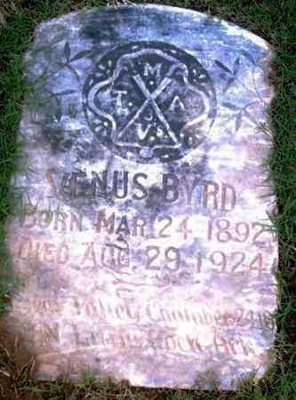 BYRD, VENUS - Pulaski County, Arkansas   VENUS BYRD - Arkansas Gravestone Photos