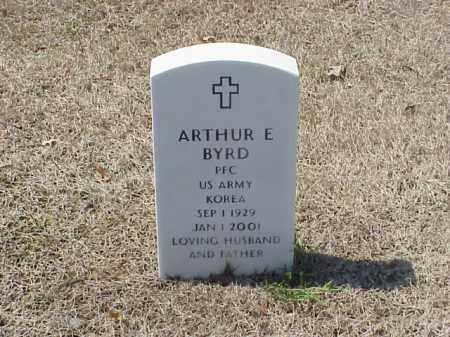 BYRD (VETERAN KOR), ARTHUR E - Pulaski County, Arkansas | ARTHUR E BYRD (VETERAN KOR) - Arkansas Gravestone Photos