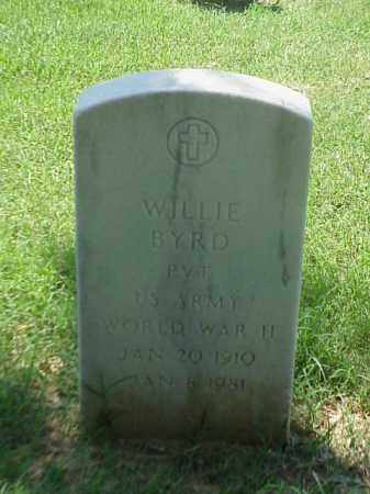 BYRD (VETERAN WWII), WILLIE - Pulaski County, Arkansas | WILLIE BYRD (VETERAN WWII) - Arkansas Gravestone Photos