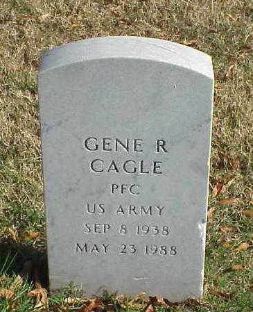 CAGLE (VETERAN), GENE R - Pulaski County, Arkansas | GENE R CAGLE (VETERAN) - Arkansas Gravestone Photos