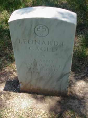 CAGLE (VETERAN WWII), LEONARD L - Pulaski County, Arkansas | LEONARD L CAGLE (VETERAN WWII) - Arkansas Gravestone Photos