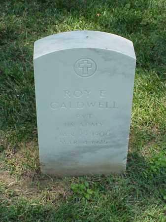 CALDWELL (VETERAN WWI), ROY E - Pulaski County, Arkansas | ROY E CALDWELL (VETERAN WWI) - Arkansas Gravestone Photos