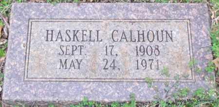 CALHOUN, HASKELL - Pulaski County, Arkansas   HASKELL CALHOUN - Arkansas Gravestone Photos